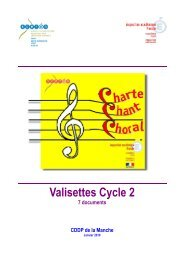 Valisettes Cycle 2 - CRDP Basse-Normandie