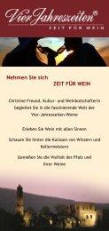 Nehmen Sie sich ZEIT FÜR WEIN - destination-desktop.de