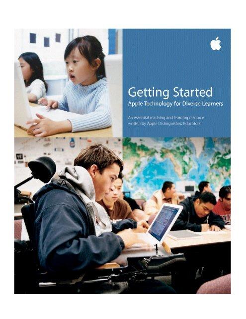 Apple Diverse Learner Guide - Alberta 1:1 Wireless Learning ...