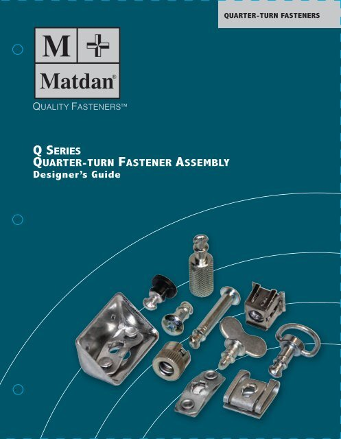 QUARTER-TURN RECEPTACLES - Electronic Fasteners Inc