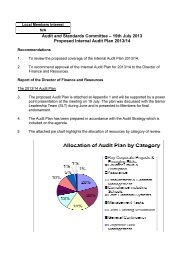Internal Audit Plan 2013/14 PDF 199 KB - Meetings, agendas, and ...