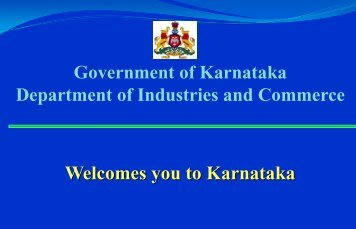 presentation on food processing initiative in karnataka