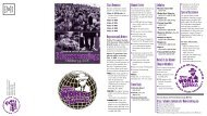 Homecoming Brochure - Alumni - Truman State University