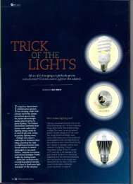 Trick of the lights - Sue White