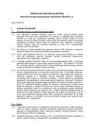 Všeobecné obchodní podmínky - ŠkoFin