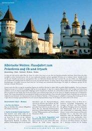 Sibirische Weiten: Flussfahrt zum Polarkreis auf Ob und Irtysch