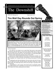 The Downshift - Chicagoland Sports Car Club