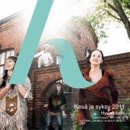 Kesä ja syksy 2011 - Hyvinkaan kaupunki