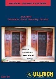 22212 Ultrasafe 4pp.indd - Ullrich Aluminium