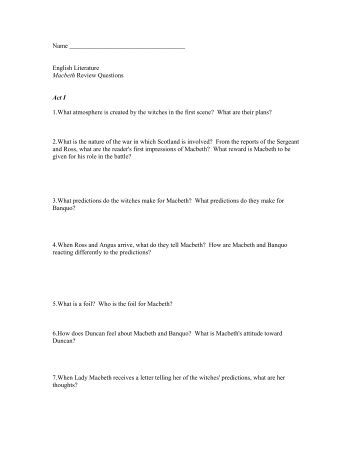 macbeth act 1 questions and answers pdf
