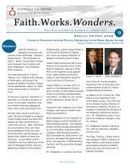 Faith.Works.Wonders. - Catholic Diocese of Wilmington