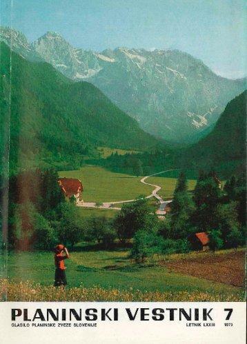 Julij - Planinski Vestnik