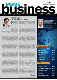 FROM THE CHAIRMAN'S DESK - CII
