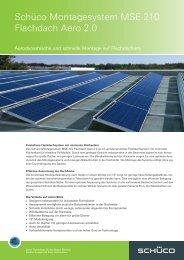 Produktdatenblatt Montagesystem MSE 210 Flachdach ... - stroh-fabrik