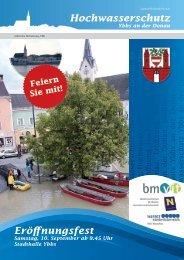 Hochwasserschutz Eröffnungsfest