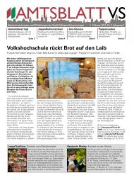 Ausgabe Nr. 2 vom 01.02.2014 - Villingen-Schwenningen