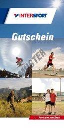 Muster-Gutschein - Intersport