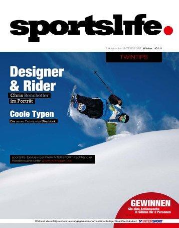 Designer & Rider