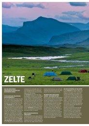 Zelte - Basislager