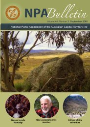 Vol 45 No 3 Sep 2008 - National Parks Association of the ACT