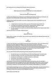 Artikel 1 Niedersächsisches Gesetz über das Halten von Hun