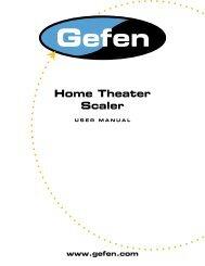 Home Theater Scaler - Gefen