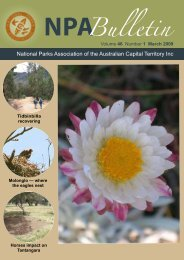Vol 46 No 1 Mar 2009 - National Parks Association of the ACT