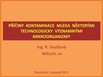 přednáška Ing. Seydlová - viamilk