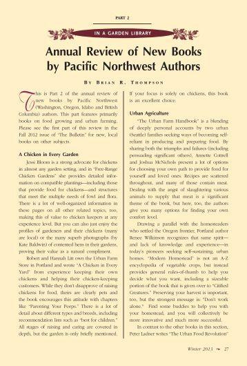 Pacific northwest writers