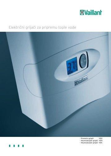 ElektriĖni grijaĖi za pripremu tople vode - Vaillant