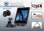 Liegeplatz mit Landanschluss - Mac Rewind