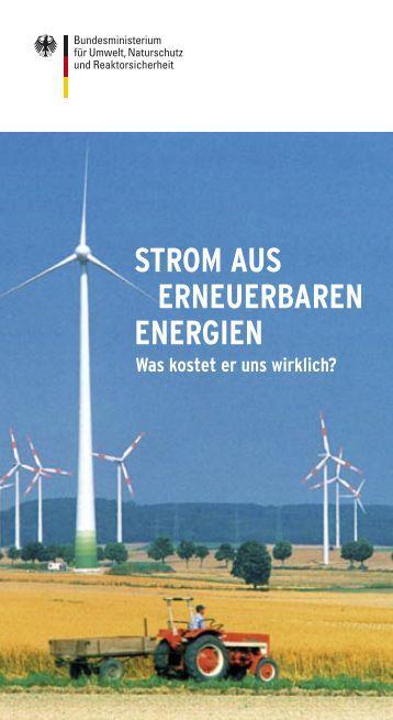 STROM AUS ERNEUERBAREN ENERGIEN - Was ... - FLIMPEX AG