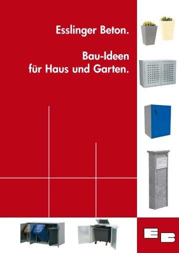 Gesamtkatalog (1,5 MB) - Esslinger Betonwerk GmbH