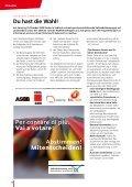 Bekämpfung der Krise Soziale Sicherungsnetze enger ... - SGB - CISL - Seite 6