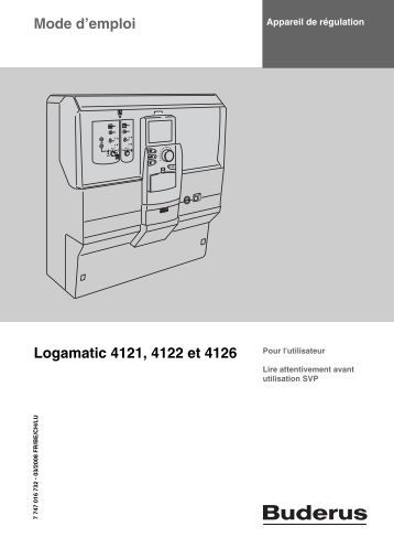 Superb Buderus Logamatic 4121 Manual Wiring Cloud Brecesaoduqqnet