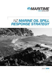 New Zealand oil spill response strategy - Maritime New Zealand