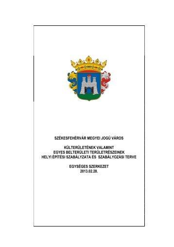 székesfehérvár megyei jogú város önkormányzat közgyűlése