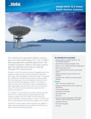 Model 8013 13.5 Meter Earth Station Antenna - ViaSat