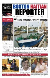 Waste more, want more - Boston Haitian Reporter