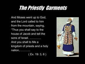 The Priestly Garments