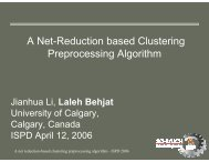 A Net-Reduction based Clustering Preprocessing Algorithm - ISPD