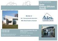 Solar Energy Efficient Homes - Green Moves Australia