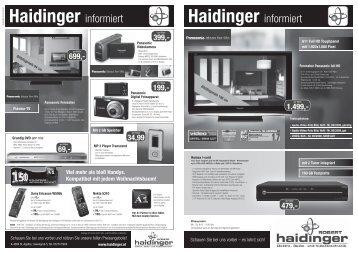 49,99 - Haidinger Radio