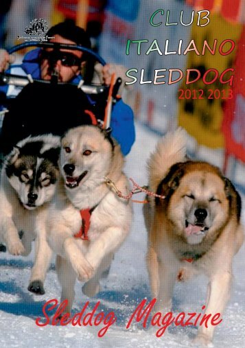 numero 1-2013.cdr - CIS club italiano sleddog