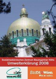 Sozialmedizinisches Zentrum Baumgartner Höhe - Das nachhaltige ...