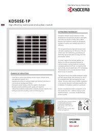 Kd50se-1p - Solarni paneli
