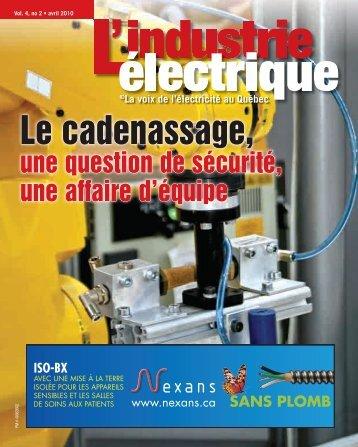 Le cadenassage, - Electrical Business Magazine
