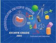 EIGHTH GRADE 2007 - Miami-Dade County Public Schools