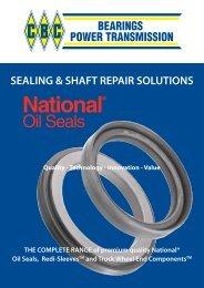 SEALING & SHAFT REPAIR SOLUTIONS - CBC Bearings