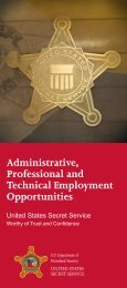Administrative, Professional and Technical Employment Opportunities